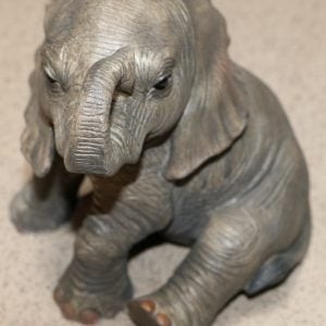 John Beswick Elephant Calf Ornament